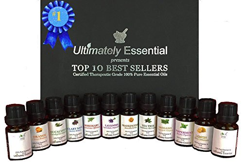 Ultimately Essential Oils Top 10 Gift Set 10/10ml