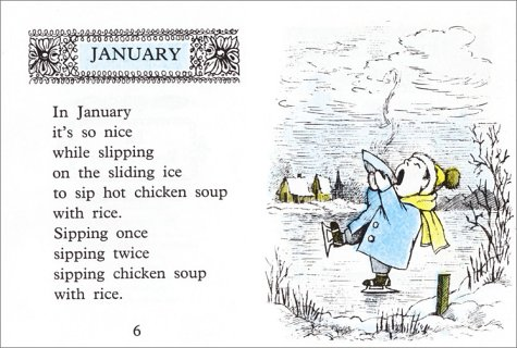 Chicken Soup with Rice: A Book of Months: Maurice Sendak