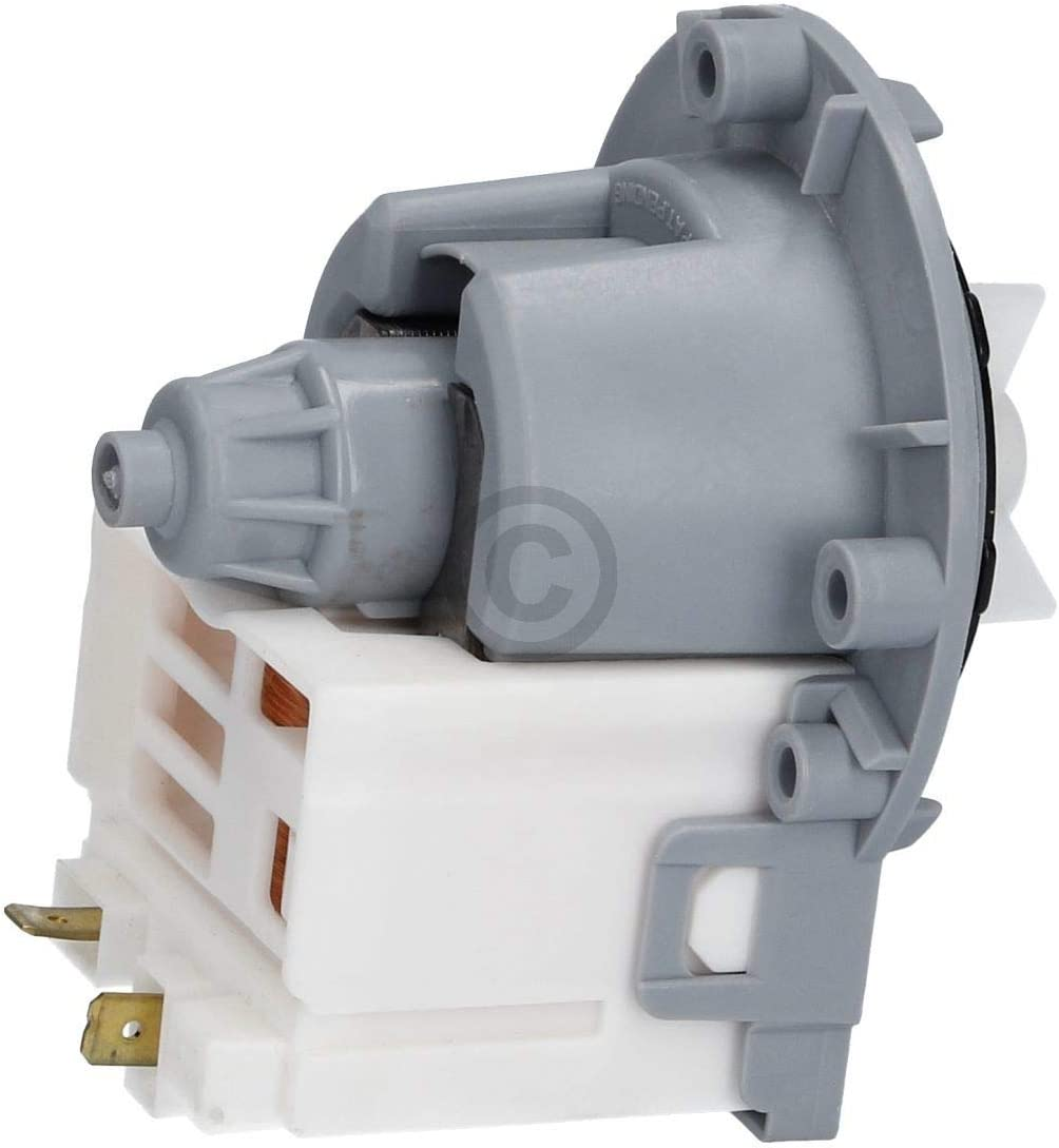 Original Askoll Ablaufpumpe Pumpenmotor Magnetpumpe Pumpe Laugenpumpe Entleerunspumpe Waschmaschine passend wie Indesit Ariston Hotpoint C00144997 Bauknecht Whirlpool Ikea Ignis Philips 482000031133