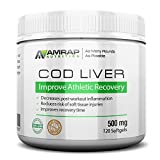 Best Cod Liver Oils - AMRAP Nutrition Fermented Norwegian Cod Liver Oil Review