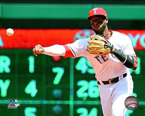 "Jurickson Profar Texas Rangers 2018 MLB Action Photo (Size: 8"" x 10"")"