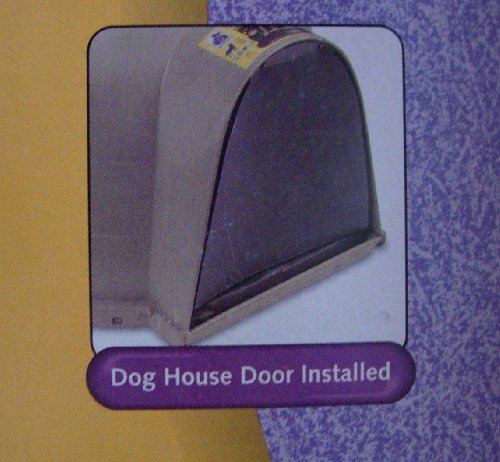 Universal Dog House Door Cutsom Fit to Most Petmate Dog Houses 19