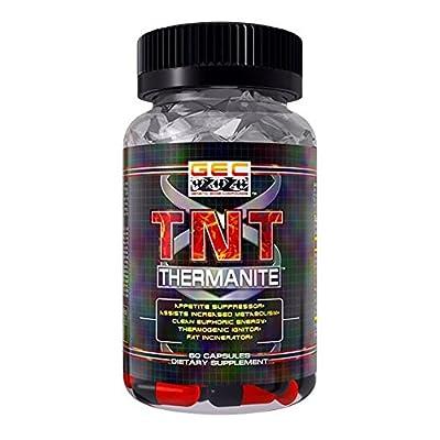 Gec Tnt-thermanite Fat Burner,thermogenic, Appetite Suppressant