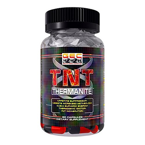 GEC TNT-THERMANITE FAT BURNER,THERMOGENIC, APPETITE SUPPRESSANT by GENETIC EDGE COMPOUNDS