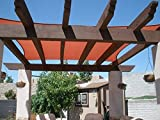 Artpuch Sun Shade Sail Canopy 12'x12' Rust Red