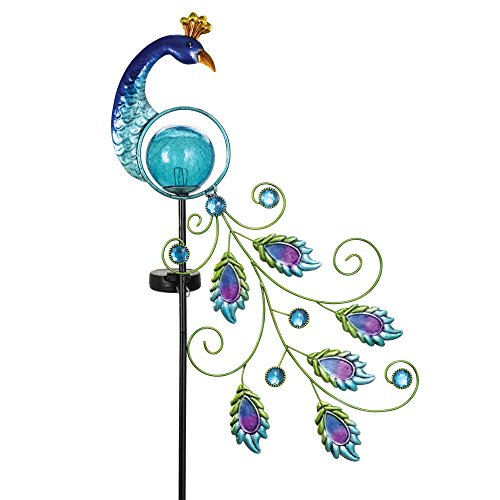 Peacock Solar Garden Light in US - 2