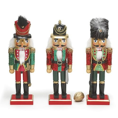 Nutcracker Christmas Figurine - 8