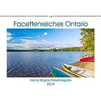 Facettenreiches Ontario (Wandkalender 2019 DIN A2 quer): Hanna Wagner zeigt Monat für Monat die beeindruckende Vielfalt der ostkanadischen Provinz Ontario. (Monatskalender, 14 Seiten ) (CALVENDO Orte)