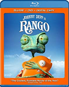 Cover Image for 'Rango (Two-Disc Blu-ray/DVD Combo + Digital Copy)'