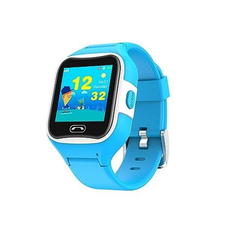 Amazon.com: JIHUIA - Reloj inteligente con GPS para niños ...
