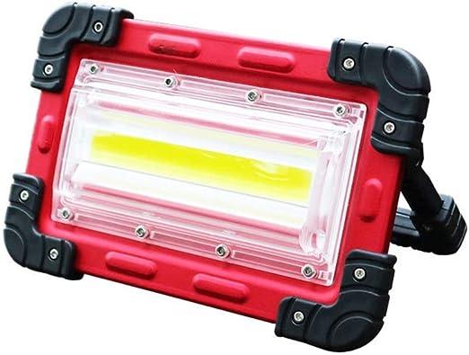 H-XH Foco Proyector LED,Luz De Emergencia Que Acampa Móvil ...