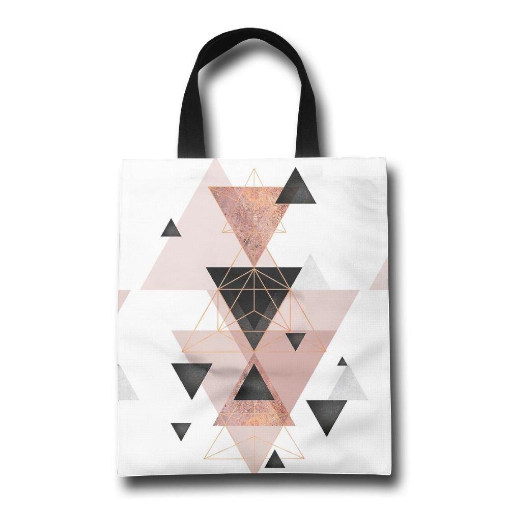 大勧め Lqzdqa 幾何学的三角形とローズゴールドのクリスマスファッション 再利用可能なショッピングバッグ B07GSMF85J エコフレンドリー 耐久性 Lqzdqa B07GSMF85J, アルク(ALUK):ab107692 --- by.specpricep.ru