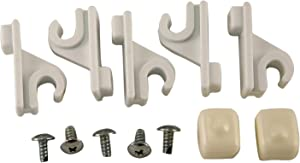 Schulte 1464666511 Adjustable Pole Clips And Caps