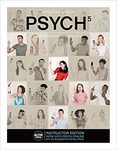 Psych 5 introductory psychology 5th edition new engaging psych 5 introductory psychology 5th edition new engaging titles from 4ltr press kindle edition by spencer a rathus health fitness dieting kindle fandeluxe Gallery