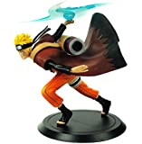 CoolChange Naruto Uzumaki Sammel Figur mit Jutsu Futon Rasen Shuriken