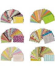 Jinshen 6 Verschillende Patronen 120 Vellen Kleurrijke Foto Instant Films Border Sticker voor FujiFilm Instax Mini 9/8/7s/70/26/50s/90 LiPlay Camera Films