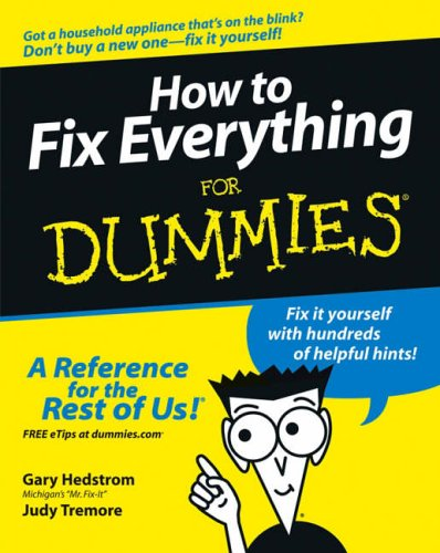 Plumbing for dummies for dummies series amazon gene how to fix everything for dummies solutioingenieria Gallery