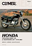 Honda Twinstar, Rebel 250 & Nighthawk 250 1978-2003