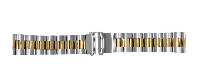 ccessory 24mm Reemplazo Pulsera de Acero Inoxidable Banda de ...