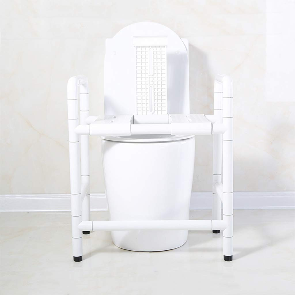 最新デザインの 白アクセス可能なトイレ椅子アームチェア二重目的の座席スツールポータブルバススツールトイレチェア Three、抗菌ナイロン外管付き高齢者用 panels Three B07GGZT8KP panels B07GGZT8KP, 松阪市:354651e5 --- efichas.com.br