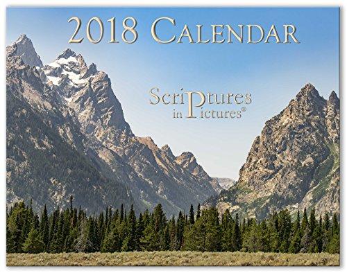 Scriptures in Pictures 2018 Calendar (Wall)