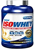 Quamtrax Nutrition Suplemento para Deportistas Isowhey, Sabor a Chocolate Blanco - 2267 gr