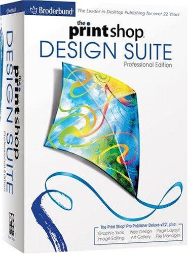 The Print Shop Design Suite Professional Edition [Old Version] by Encore
