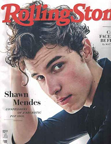 Rolling Stone Magazine (December, 2018) Shawn Mendes Cover