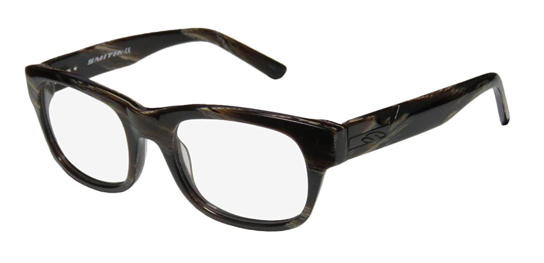 Smith Optics Woodrow Mens/Womens Rxable Red Carpet Style Designer Full-rim Flexible Hinges Eyeglasses/Eyewear