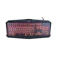 Redragon K503 Harpe 7-Color LED Backlit Gaming Keyboard (Black)