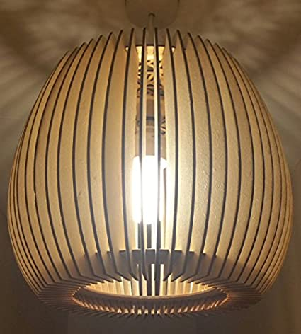 Beautifully Detailed Wooden Natural Lampshade Laser Cut Rustic Lampshade New Home Lodge Decor Ceiling Lampshade Large Lampshade