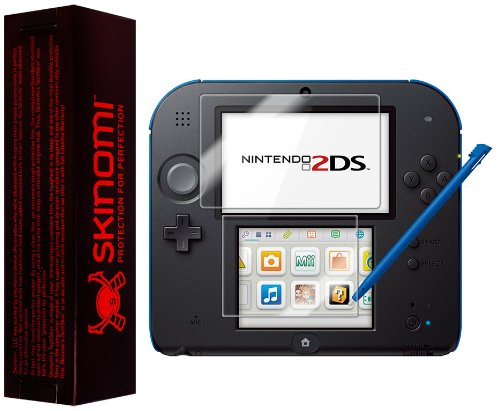 Nintendo 2DS Screen Protector, Skinomi® TechSkin Full Coverage Screen Protector for Nintendo 2DS Clear HD Anti-Bubble Film