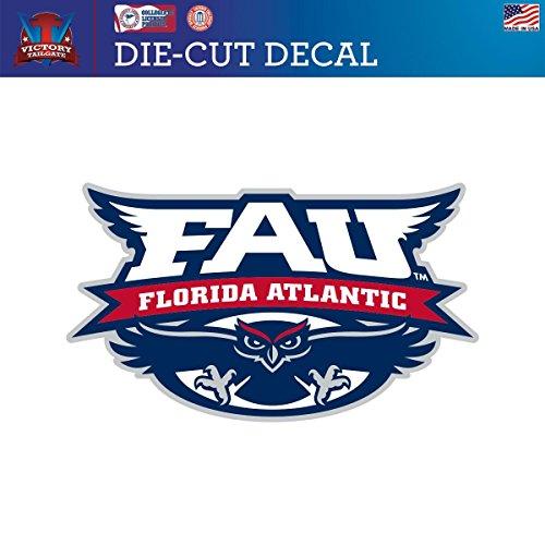 Florida Atlantic University FAU Owls Die-Cut Vinyl Decal Logo 1 (Approx 6x6) (Fau Owls)