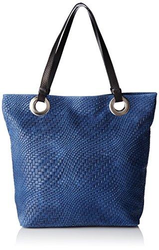 Chicca Borse Women's 80060 Top-Handle Bag Blue