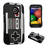 DuroCase ® Motorola Moto E 1st Gen. XT1021 (2014 Released) Kickstand Bumper Case – (Game Controller)