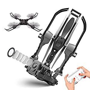 Rolytoy Black Foldable Drone
