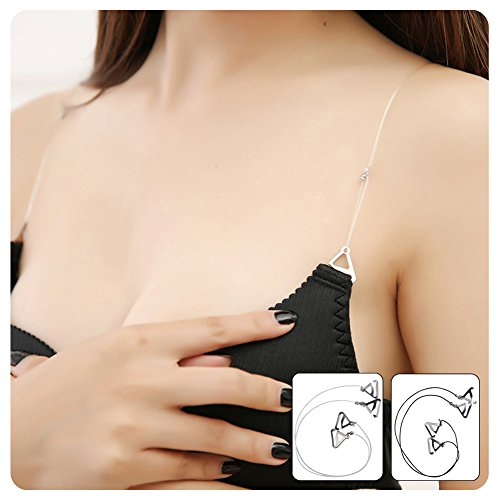 Find Discount HaloVa Invisible Bra Straps Replacement, Adjustable Women's Bra Shoulder Strap