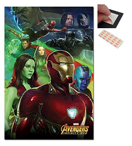 Avengers Infinity War Iron Man Poster - 91.5 x 61cms