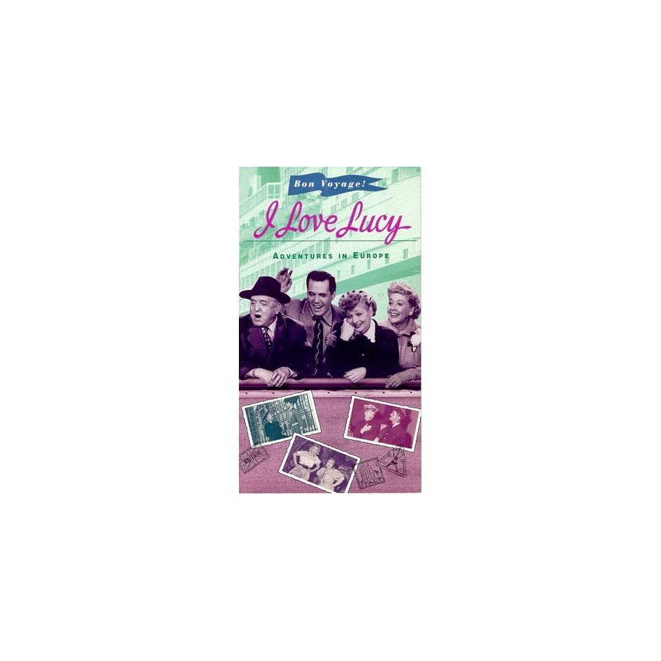 I Love Lucy Adventures in Europe [VHS]