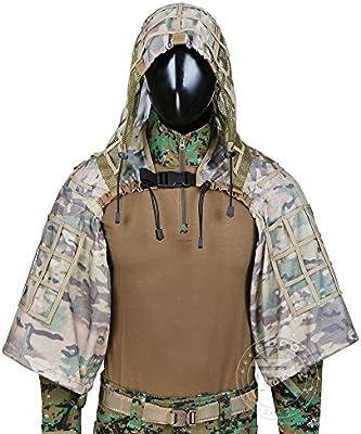 Tactical Sniper Top Ghillie Base Airsoft Caza - Traje de Base, CP ...