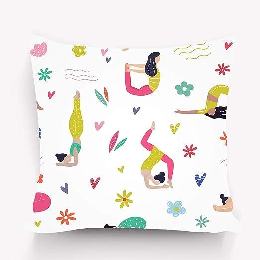 zexuandiy Fundas para Almohada Pillow Case Decorative ...