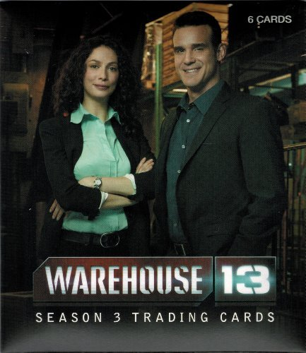 2012 Warehouse 13 Season 3 Premium Pack with Autograph Card