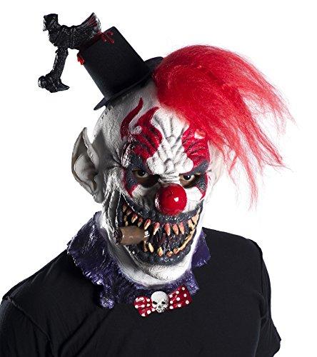 Rubie's Costume Co. Men's Captain Creepo Mask, As Shown, One Size - Rubie's Costume Deluxe Overhead Skull Mask