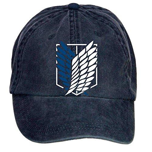 Kittyer Unisex Attack on Titan Adjustable Baseball Hat