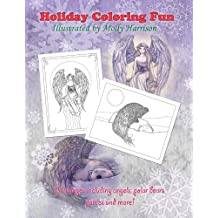 Holiday Coloring Fun by Molly Harrison: Angels, Polar Bears, Fairies, and More!