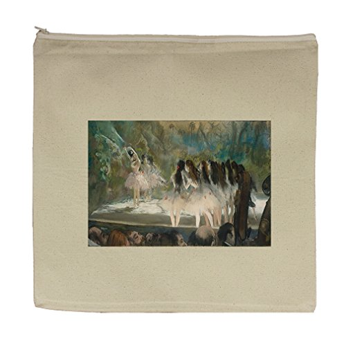 Ballet At The Paris Opera (Degas) Canvas Zipper Tote Bag Makeup Bag (Ballet Bag Degas)