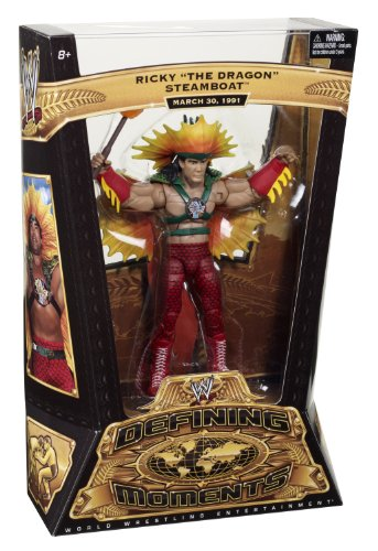 WWE Defining Moments Ricky Steamboat - Dragon Outfit Collector Figure Series #3