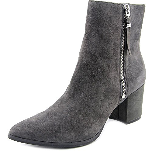 Michael Suede Dawson Kors MICHAEL Gray Women Bootie Charcoal Toe Bootie Mid Pointed Ow8dEqU8