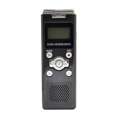 QLPP Pequeña grabadora de Voz Compatible con Tarjeta TF, con ...