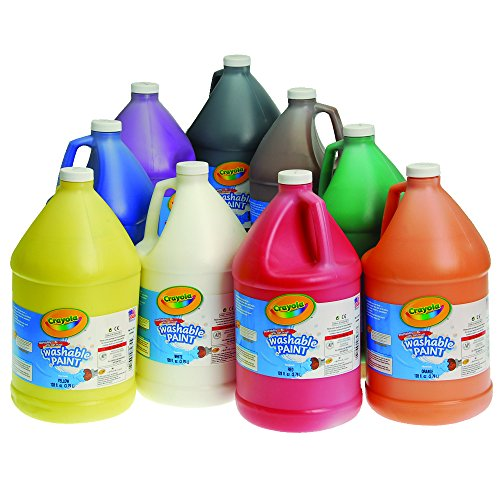 crayolar-washable-tempera-paint-set-of-9-gallons